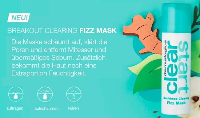 Gesichtsmasken gegen Mitesser