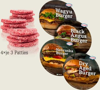 Albersfood Burgerbox